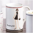 35773 SHOPPING GIRL 12 OZ. MUG