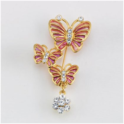 36901 Butterfly Trio Pin