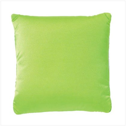 36756 Green Squishy Square Pillow