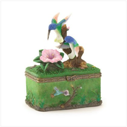 36244 Hummingbird Trinket Box