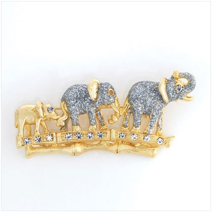 36905 Lucky Elephant Family Pin