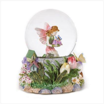 36168 Musical Fairy Snowglobe
