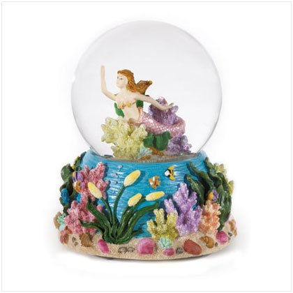 36170 Musical Mermaid Snowglobe