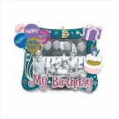 "36491 ""My Birthday"" Pewter Photo Frame"