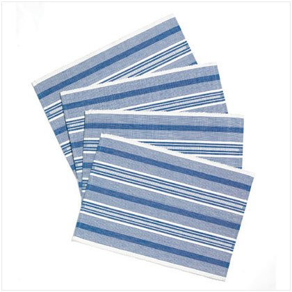 36496 Blue & White Placemats