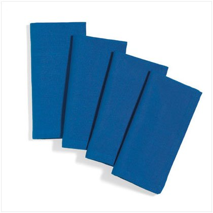 36498 Blue Table Napkins Set