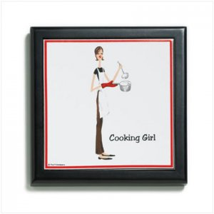 36551 The Girls Frame Trivet