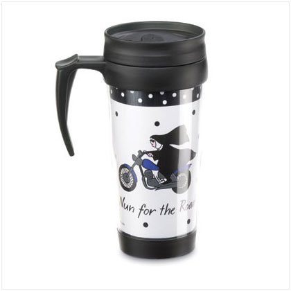 36566 Nun For The Road Commuter Mug