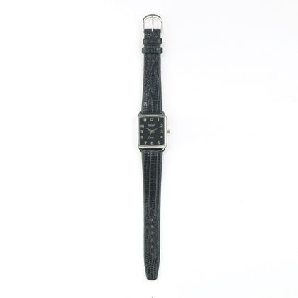 36793 Classic Black Embossed Watch