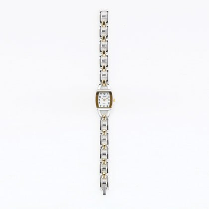 36799 Two-TOne Metal Link Watch