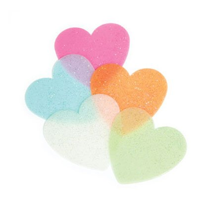 36743 Glow In The Dark Hearts