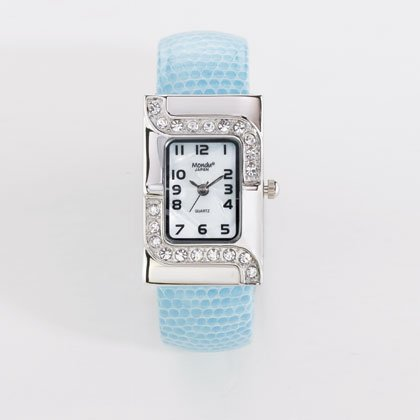 36803 Blue Cuff Lady's Watch