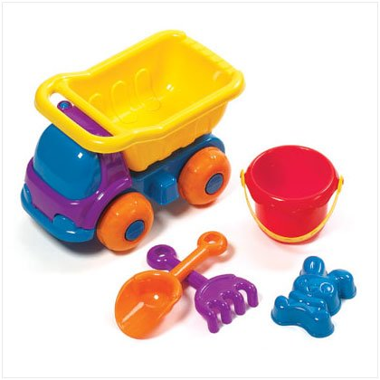 36583 Sand Truck Beach Toys Set