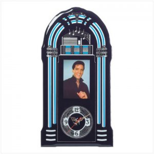 36714 Elvis Jukebox Wall Clock