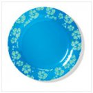 36679  BLUE HAWAIIAN DINNER PLATE