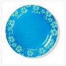 36679  BLUE HAWAIIAN DINNER PLATE