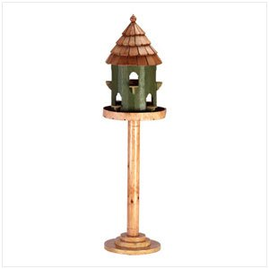 34299 Free Standing Cottage Birdhouse