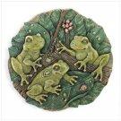 31197 Garden Frogs Wall Plaque