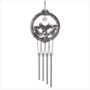 31204 Hummingbird Crystal Wind Chimes