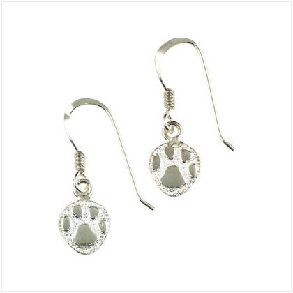 36928 Paw Prints Drop Earrings