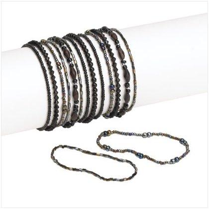 36947 Black Bracelets