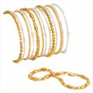 36949 Gold Stretch Bracelets