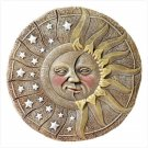 31826 Alabastrite Sun & Star Garden Plaque