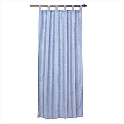 37031 Blue Polystrait Curtain