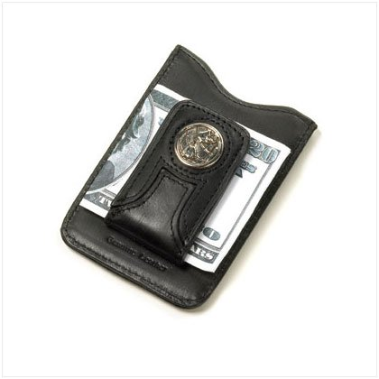 36465 Leather Money Clip Wallet