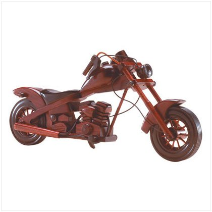 35310 Wood Model Chopper Motorcycle