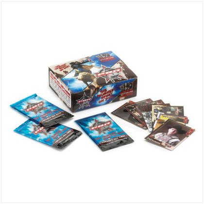 36978 Professional Bull RidersTrading Cards