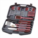 34180 18 Piece Barbecue Set in Case