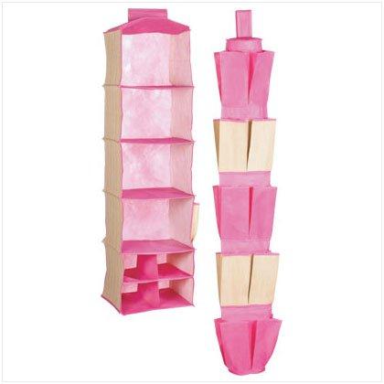 37261 Closet Organizer 2 Pack-pink
