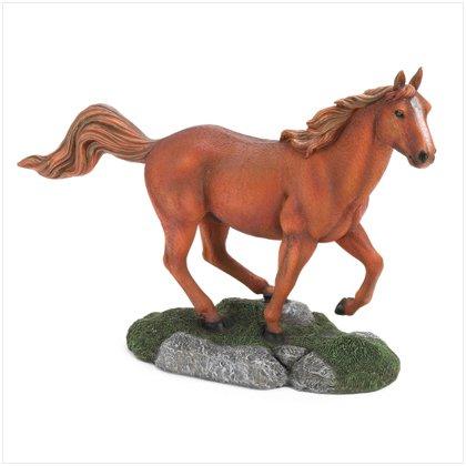 36988 Running Horse Figurine