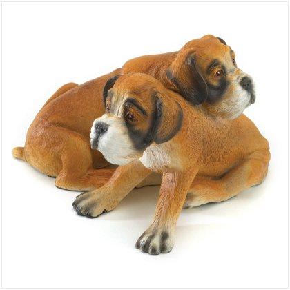 36995 Boxer Puppy Figurine