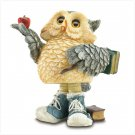 37012 Back to School Owl Bobble Figurine