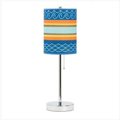 37027 Sun and Surf Pattern Lamp