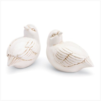37041 Porcelain Bird Pair