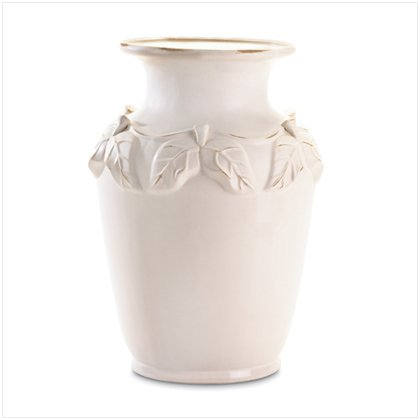 37047 White Porcelain Vase
