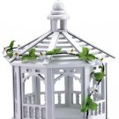 30209 White Gazebo Bird Feeder