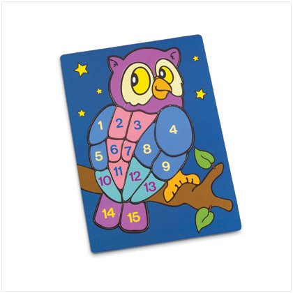 37135 Owl Numbered Jigsaw Puzzle