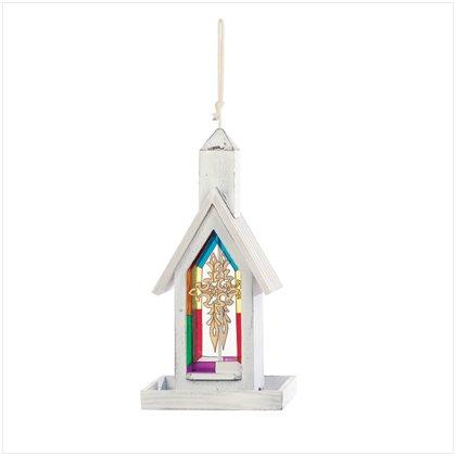 37158 White Wood Church Birdfeeder