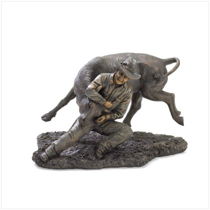 37169 Liberty Bronze Cowboy Rodeo