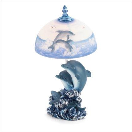 37174 Dolphin Lamp