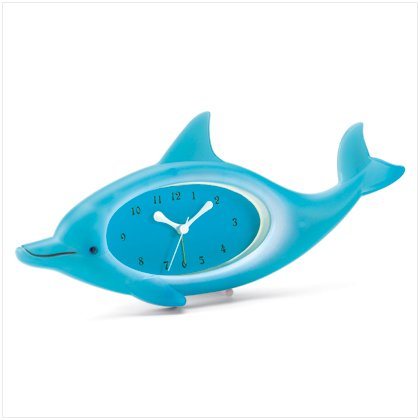 37178 Dolphin Clock with Alarm