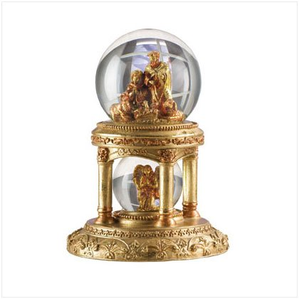 31137 Golden Palace Snow Globe
