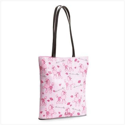 37249 Poodle Tote Bag