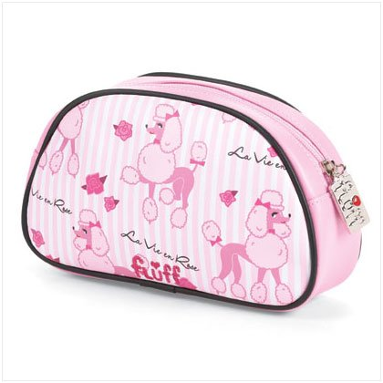 37253 Poodle Makeup Bag