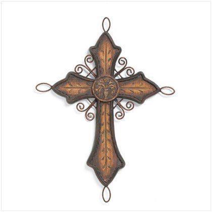 37304 Old World Cross Decor
