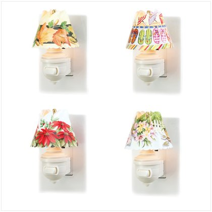 37311 Nightlight and Four Spin Shades Set